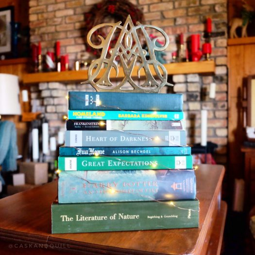 Use Books You Already Own to Create Christmas Decor