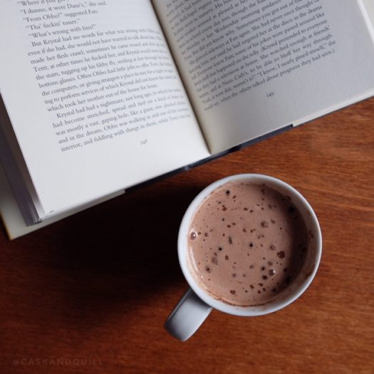 Mint Hot Chocolate Inspired by Poirot