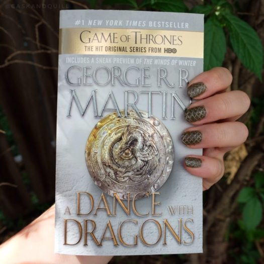Dragon Egg Nails, Game of Thrones
