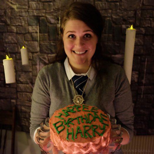 Harry Potter party, Hagrid birthday cake