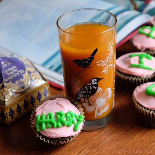 Harry Potter birthday cupcakes