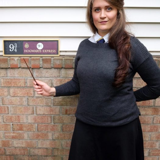 DIY Hogwarts School Uniform