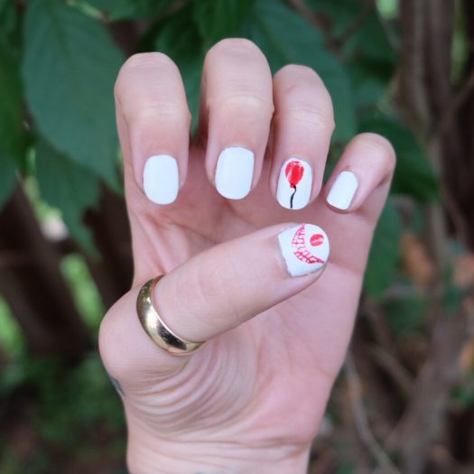 Stephen King's It nail art