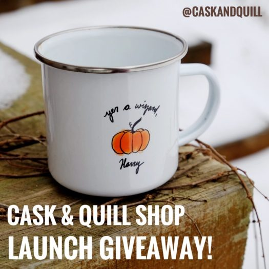 Cask & Quill Shop launch giveaway!